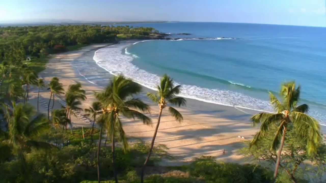Tropical Island Beach Ambience Sound: (HD) ONE HOUR OF RELAXING BEACH VIDEO WITH NATURAL SOUNDS