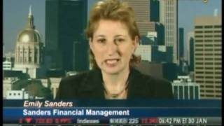 Emily Sanders on Bloomberg Television - Jan 2008