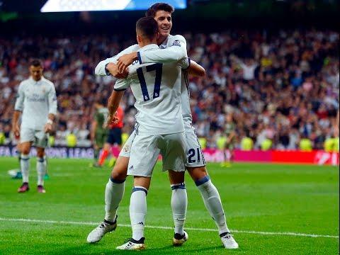 Real Madrid 5-1 Legia Varsovia   GOLES: Bale, Marcelo, Asensio, Vázquez, Morata   RESUMEN