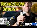 GTA 5 LSPDFR - Busting Drunk Drivers - Drink Drive Go to Jail