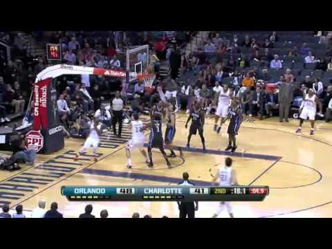 Magic vs. Bobcats 2012 highlights [3-6-2012]