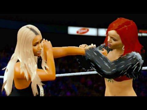WWE 2K16 - Nicki Minaj Vs. Rihanna
