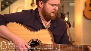 Andrew White Freja 1020 NAT Acoustic Guitar Played By Ben Smith (Part One)