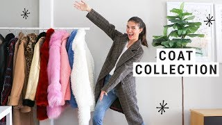 My Fall/Winter COAT COLLECTION!!  (Fashion Inspo)