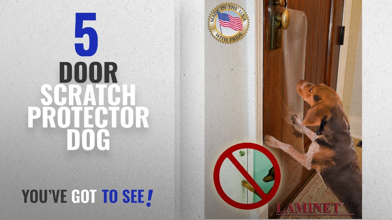 Top 5 Door Scratch Protector Dog [2018 Best Sellers]: The ORIGINAL LAMINET  Deluxe Dog Scratch Shield