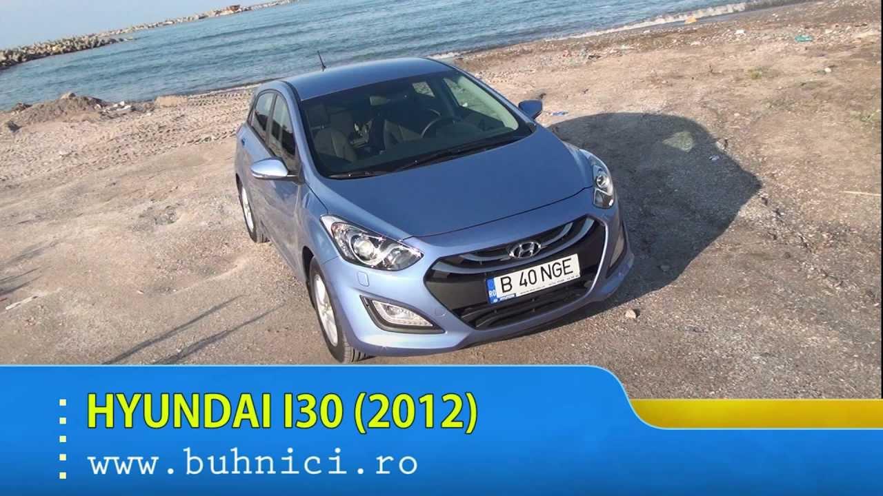 REVIEW - Hyundai i30 2012 (www.buhnici.ro)