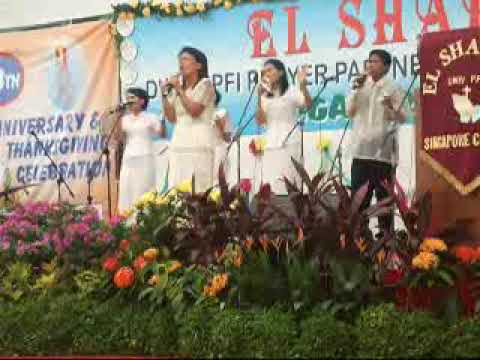El Shaddai S'pore chapter-18th Anniversary: Malaysia KL Chapter.wmv