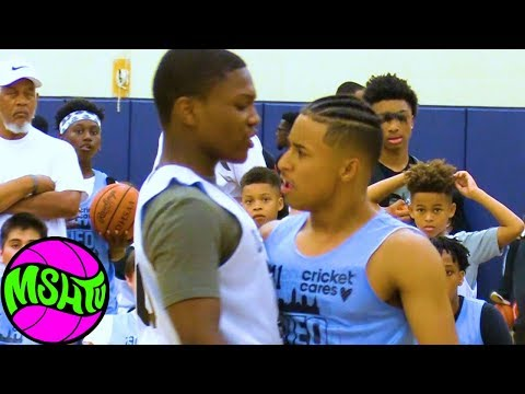 Julian Newman BATTLE GETS INTENSE vs Ramone Woods at NEO Youth Elite
