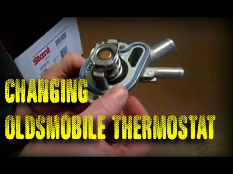 How to replace a Thermostat – Olds Intrigue