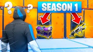 QUIZ ON SEASON 1 OF FORTNITE!! Do you REMEMBER these COSE? (98% SBAGLIA)