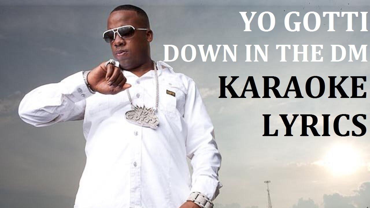 Yo gotti down in the dm karaoke cover lyrics youtube