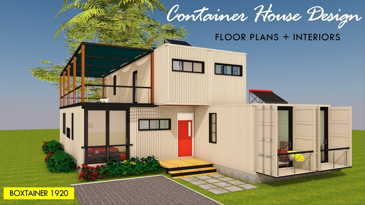 Luxury Shipping Container House Design 5 Bedroom Floor Plan