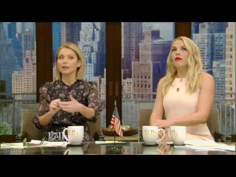 Live With Kelly 02/01/2017 Michelle Williams, Carla Gugino, Katie Brown; co-host Busy Philipps