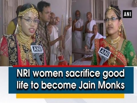 NRI women sacrifice good life to become Jain Monks - Gujarat News
