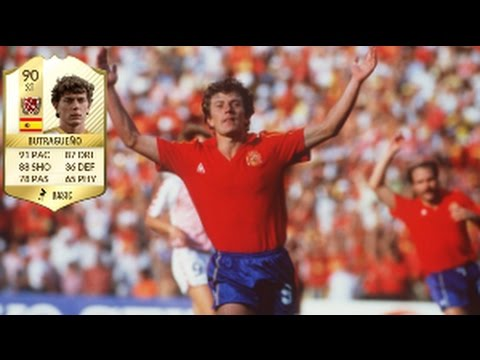 Fifa 17 Emilio Butragueno Legend Review - YouTube