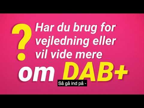 Er du og din radio klar til DAB+?
