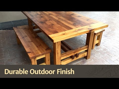 Durable Outdoor Finish?
