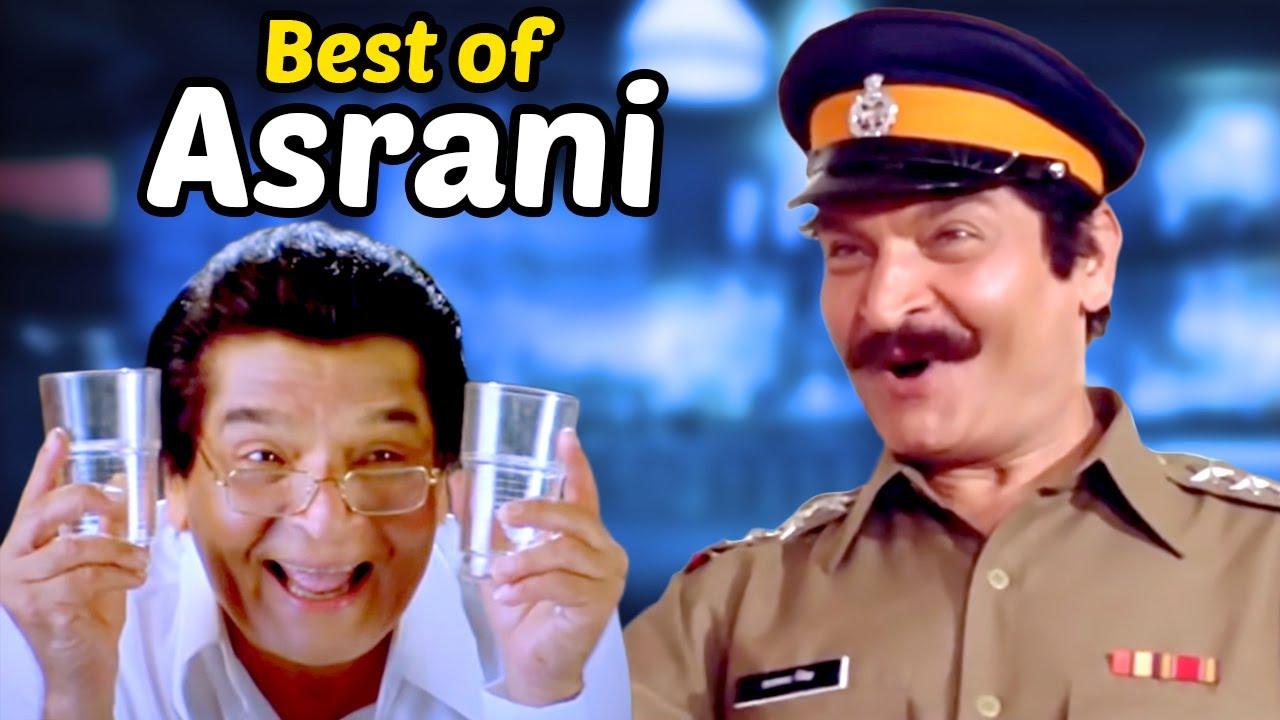 Best Comedy Scenes of Versatile Comedian - Actor Asrani | Welcome - Fool N Final - Dulhe Raja