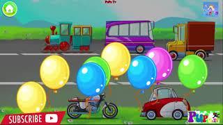 Learning Transports   App For kids  LASTENOHJELMIA SUOMEKSI   Peli lapsille