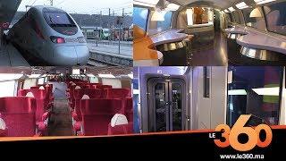 Le360.ma •Le360 à bord du LGV entre Casablanca et Tanger
