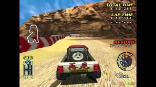 TNN Motorsports: Hardcore Heat - Gameplay Dreamcast HD 720P