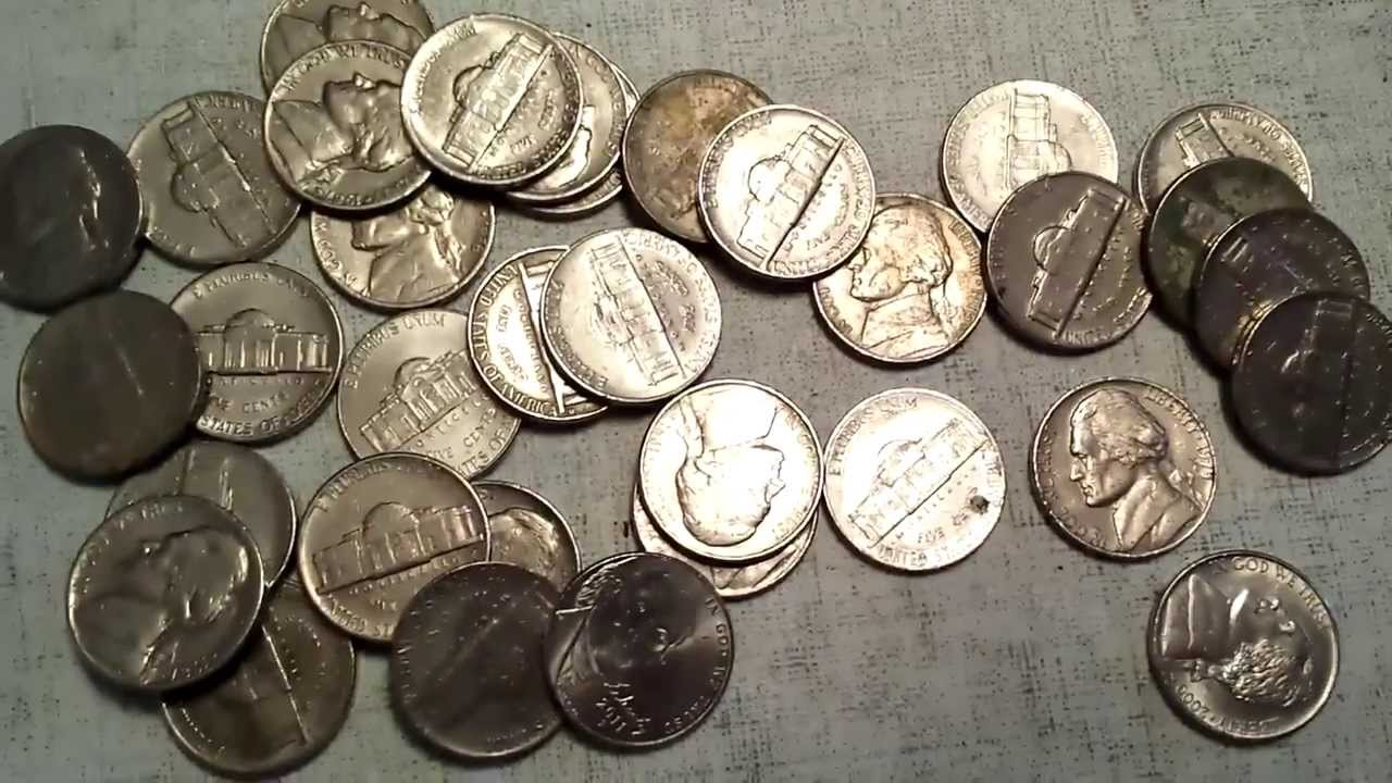 Coin Roll Hunting - Nickels & Dimes - Silver! + A Pleasant Surprise ...