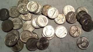 Coin Roll Hunting - Nickels & Dimes - Silver! + A Pleasant Surprise!