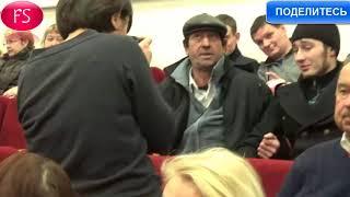 Произошла потасовка на встрече Грудинина с избирателями в Нижнем Новгороде