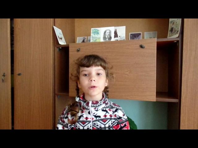 Изображение предпросмотра прочтения – КсенияШматенко читает отрывок изпроизведения «Перед дождем» Н.А.Некрасова