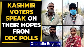 Kashmir voters speak: What DDC polls mean for them | Ground Report | Oneindia News