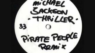 Michael Jackson Thriller Pirate People 2003 White Label Mix