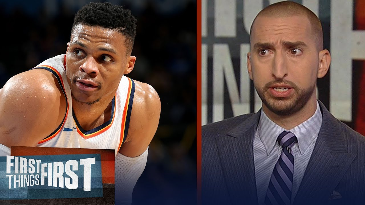 Nick on Westbrook's knee surgery: 'It's incredibly concerning to me' | NBA | First Things First