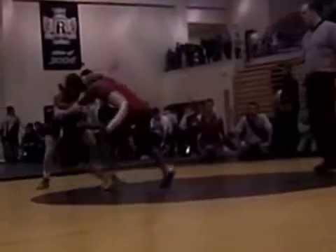 Bountiful High School Wrestling vs. Snow Canyon High School Wrestling 2009-2010 Match 15