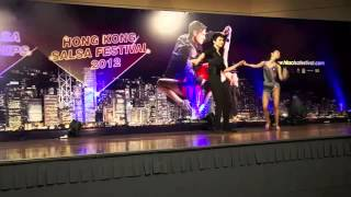 Singapore Salsa Performance  Professional Category SemiFinals 5