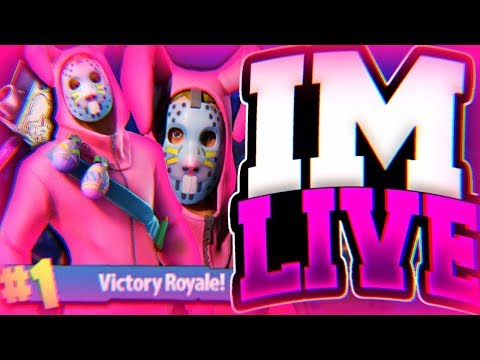Fortnite Battle Royale Live Stream 50 Wins Playing With Subscribers