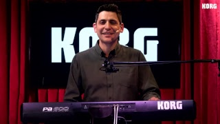 Workshop KORG PA600 con Hugo Olivares, En Vivo!!