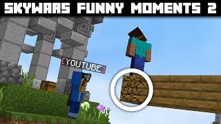 Skywars Funny Moments 2 (also i got youtube rank) | Hypixel