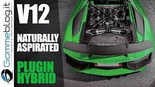 Lamborghini: The 2021 AVENTADOR will be .. V12 PLUGIN HYBRID