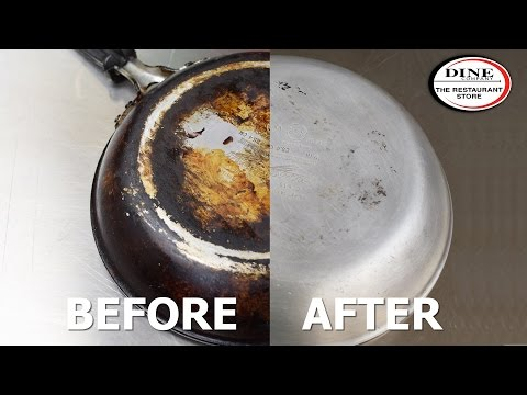 How To Clean A Stainless Steel Burnt Pan Or Pot Easy M