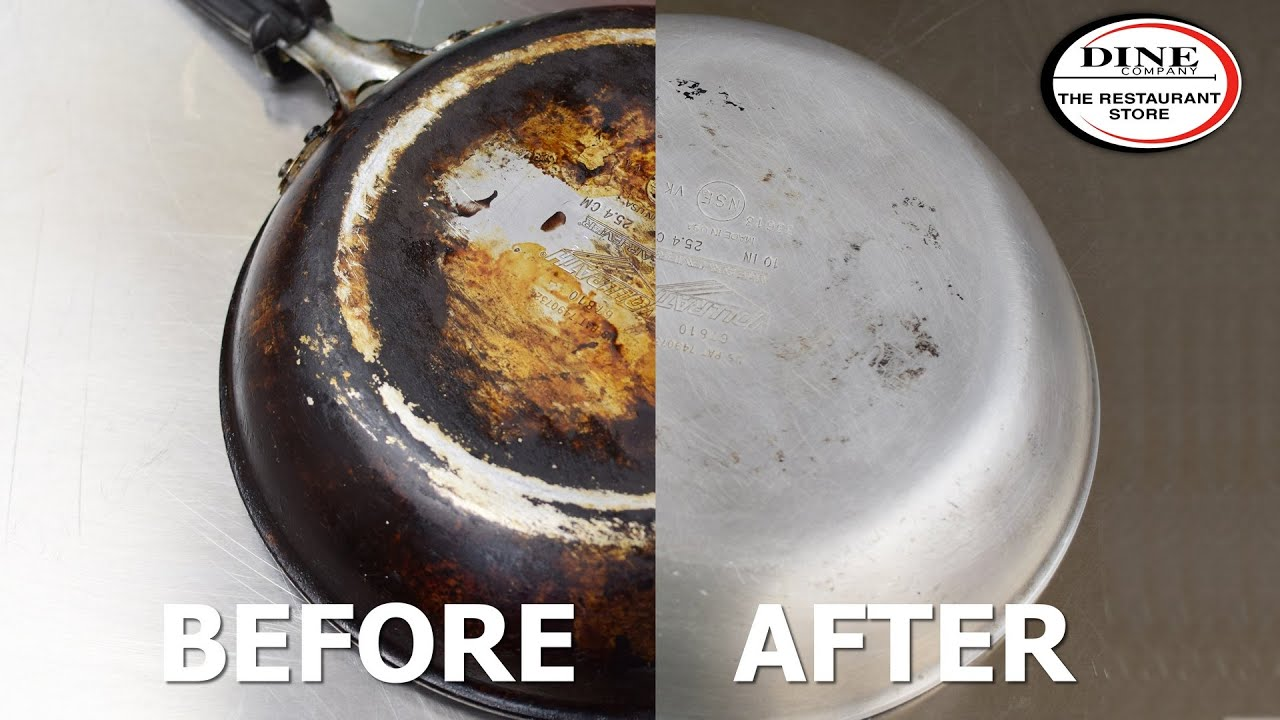 Remove Carbon And Grease Build Up