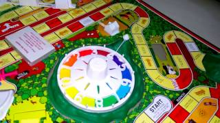 Game of life (board game) unboxing, setting up and instructions