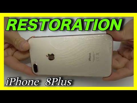 BACK GLASS REPAIR IPHONE 8 PLUS