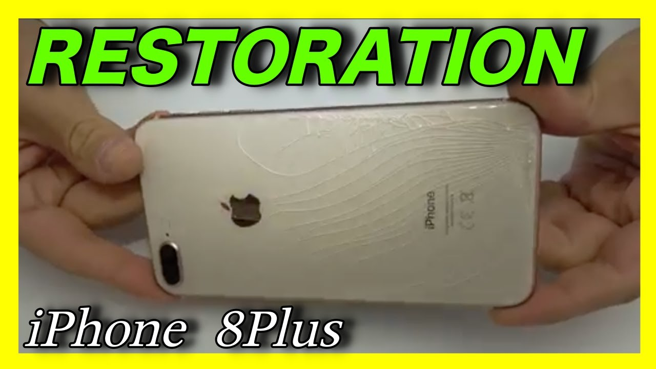 sports shoes c93d8 8ed55 BACK GLASS REPAIR IPHONE 8 PLUS