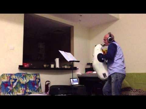 demo of silencer alto saxophone