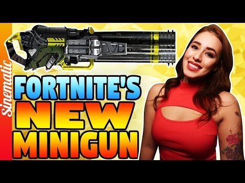 Fortnite: EXCITED FOR THE UPCOMING MINIGUN?!!  225+ Wins   2300+ Kills!Come BE a SINNER :)