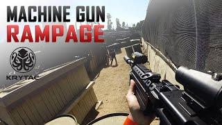 Krytac Light Machine Gun (LMG) Rampage - Support Gunner Tactics - Airsoft GI