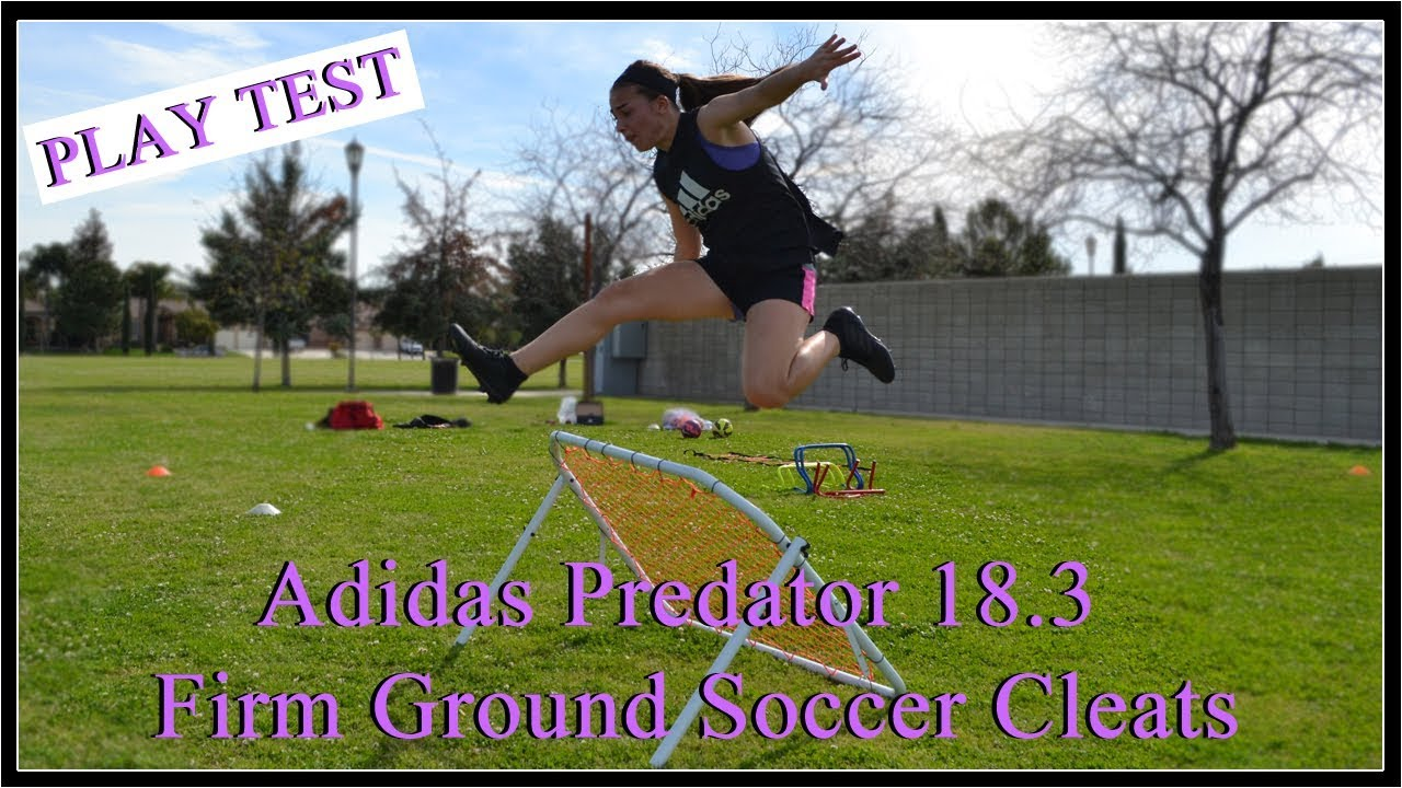 6493ac664cc9 PLAY TEST Adidas Predator 18.3 Firm Ground Soccer Cleats - YouTube