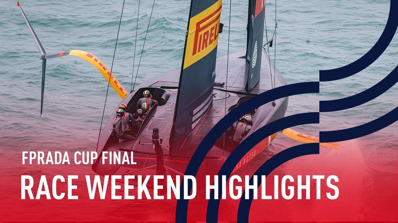 PRADA Cup Final Race Weekend 1 Highlights