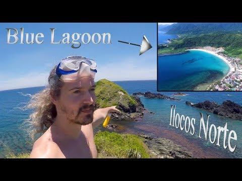 Exploring Blue Lagoon Beach - Pagudpud Ilocos Norte - Philippines Vlog 17