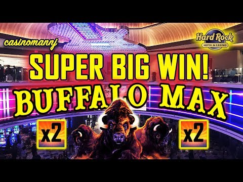 💥NEW SLOT💥 - SUPER BIG WIN! - 80 FREE SPINS!!!! - BUFFALO MAX SLOT MACHINE 🐂 -